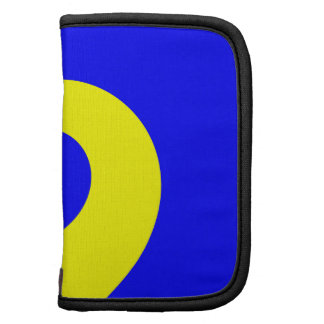 Giro azul y amarillo planificadores