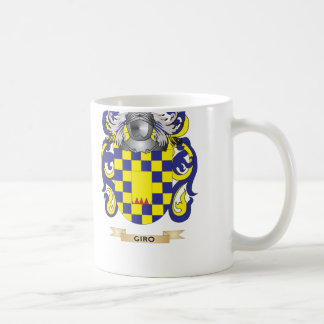 Giro Coat of Arms (Family Crest) Mugs