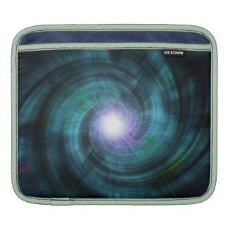 Giro cósmico azul fundas para iPads