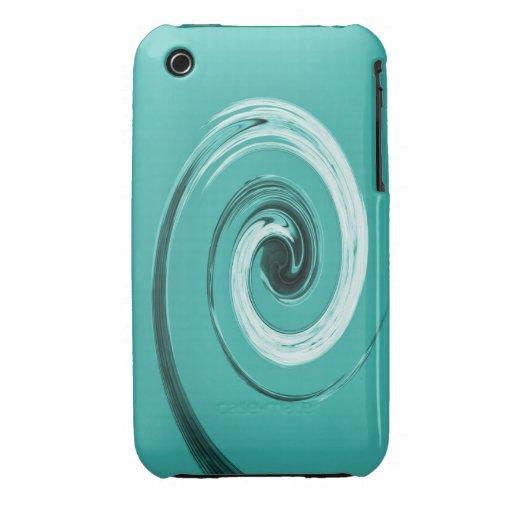 Giro de Nelson azul claro iPhone 3 Cobreturas
