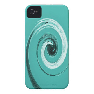 Giro de Nelson azul claro iPhone 4 Case-Mate Cárcasas