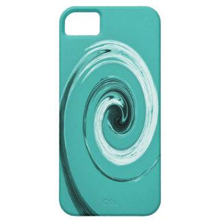 Giro de Nelsons azul claro Funda Para iPhone 5 Barely There