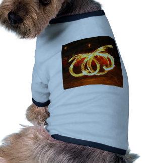 Giro del fuego - personal del dragón camisas de mascota