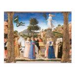 Girolamo DA Crémona - los triunfos de Petrarch Postal
