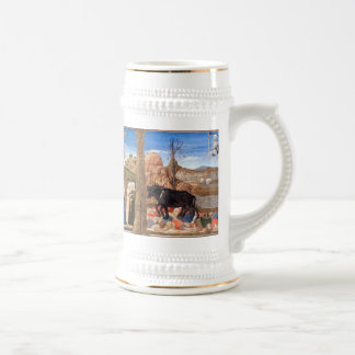 Girolamo da Cremona - The Triumphs of Petrarch Beer Stein