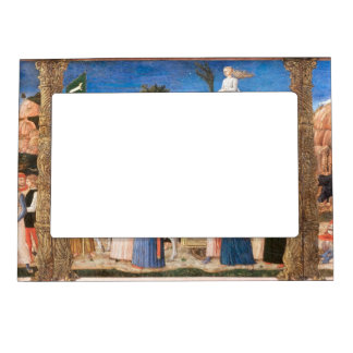 Girolamo da Cremona - The Triumphs of Petrarch Magnetic Photo Frame