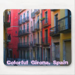 Girona colorida Mousepad Alfombrillas De Ratones