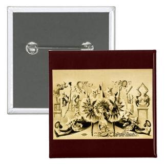 Giros grotescos por Eccentriques dotado 1900 Pins