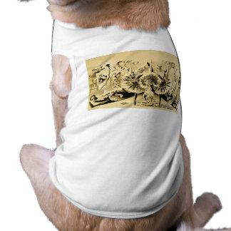 Giros grotescos por Eccentriques dotado 1900 Ropa De Perro