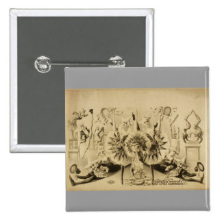 Giros grotescos por Eccentriques dotado T retro Pins