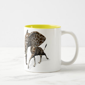Girphant Or Eleffe Two-Tone Coffee Mug