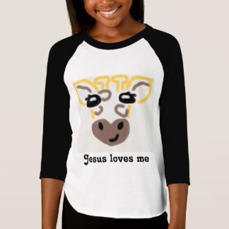 Girrafe, Jesus loves me T-Shirt