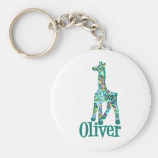 Girraffe for Oliver Keychain