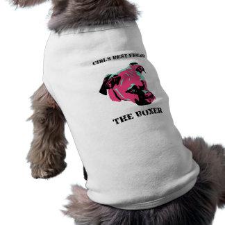 Gir's Best Friend Boxer Dog Shirt