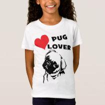 Gir's Pug Love Tee