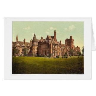 Girton College, Cambridge, England vintage Photoch Greeting Cards
