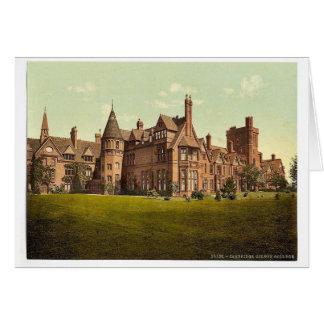 Girton College, Cambridge, England vintage Photoch Cards
