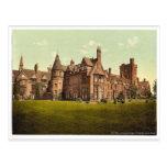 Girton College, Cambridge, England vintage Photoch Postcard