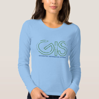 GIS, geographic information system - Customized Shirt