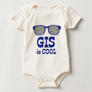 GIS Is Cool Baby Bodysuit