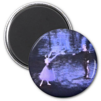 Giselle 2 Inch Round Magnet
