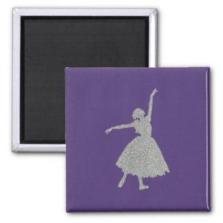 Giselle 2 Inch Square Magnet