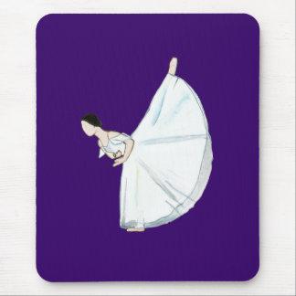 Giselle cojín de ratón del acto II púrpura Alfombrilla De Raton