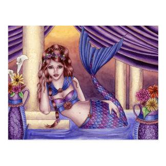 Giselle - Roman Mermaid Postcard