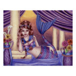 Giselle - Roman Mermaid Poster