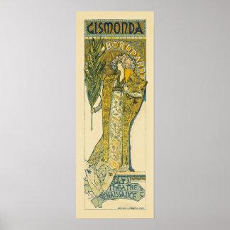 Gismonda poster