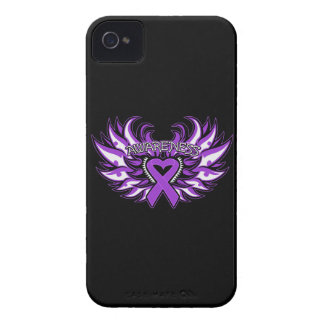 GIST Cancer Awareness Heart Wings iPhone 4 Covers