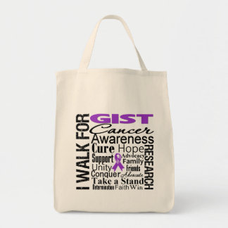 GIST Cancer Awareness Walk Tote Bags