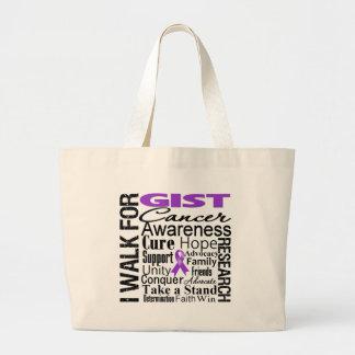 GIST Cancer Awareness Walk Canvas Bags