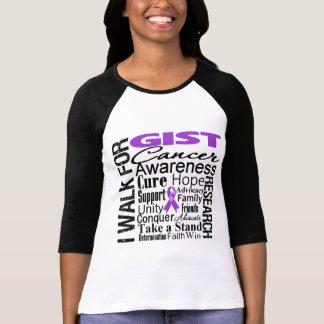 GIST Cancer Awareness Walk Tee Shirts