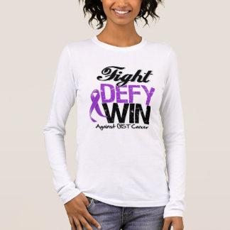 GIST Cancer Fight Defy Win Long Sleeve T-Shirt