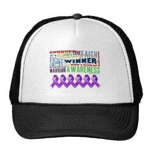 GIST Cancer Inspirational Words Trucker Hat