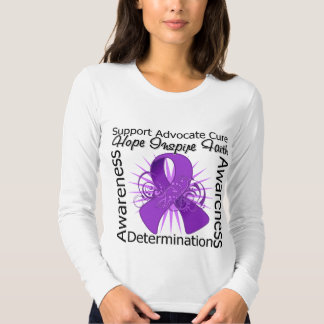 GIST Cancer Inspirations Spiral Ribbon Tshirt