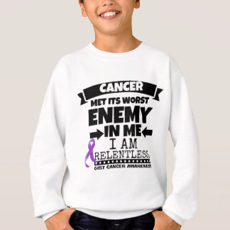 GIST Cancer Met Its Worst Enemy in Me Sweatshirt