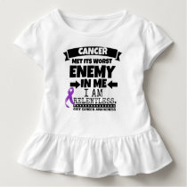 GIST Cancer Met Its Worst Enemy in Me Toddler T-shirt