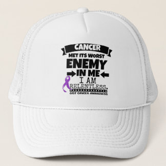 GIST Cancer Met Its Worst Enemy in Me Trucker Hat