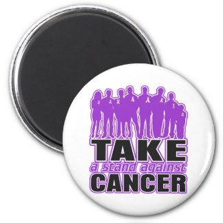 GIST Cancer - Take A Stand Against Cancer 2 Inch Round Magnet