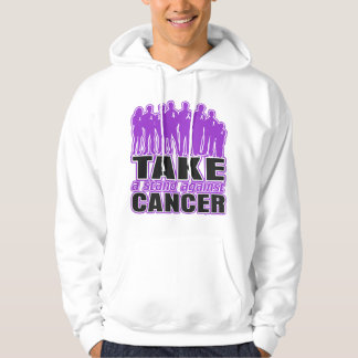 GIST Cancer - Take A Stand Against Cancer Hooded Sweatshirts