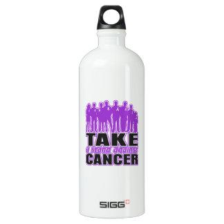 GIST Cancer - Take A Stand Against Cancer SIGG Traveler 1.0L Water Bottle