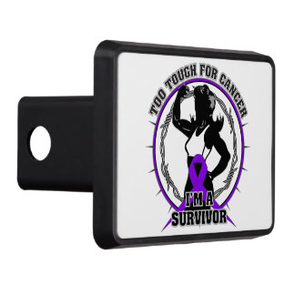 GIST Cancer Too Tough For Cancer Trailer Hitch Covers