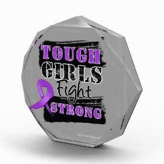 GIST Cancer Tough Girls Fight Strong Acrylic Award