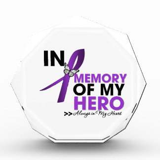 GIST Cancer Tribute In Memory of My Hero Award