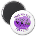 GIST Cancer Walk Run Ride For A Cure Magnet