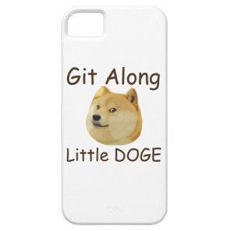 Git a lo largo del pequeño DUX iPhone 5 Funda