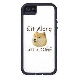 Git a lo largo del pequeño DUX Funda Para iPhone 5 Tough Xtreme