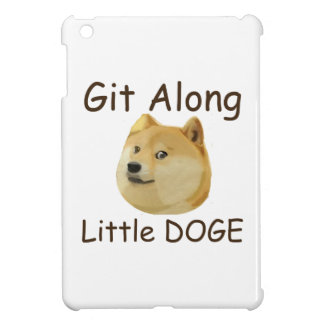 Git Along Little DOGE iPad Mini Cases